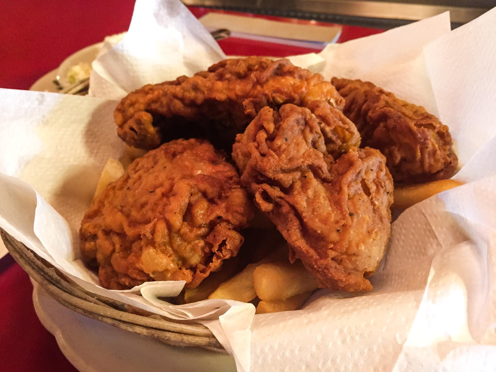 Rutt's hut fried chicken