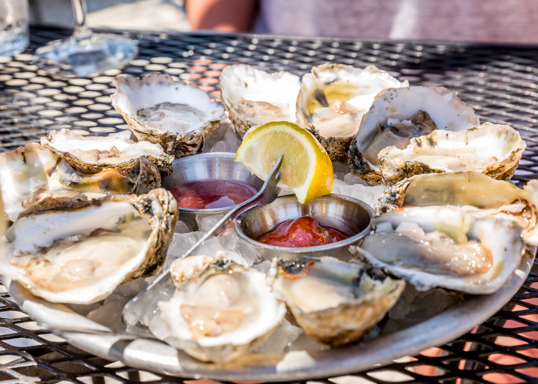 Merroir Topping VA oysters