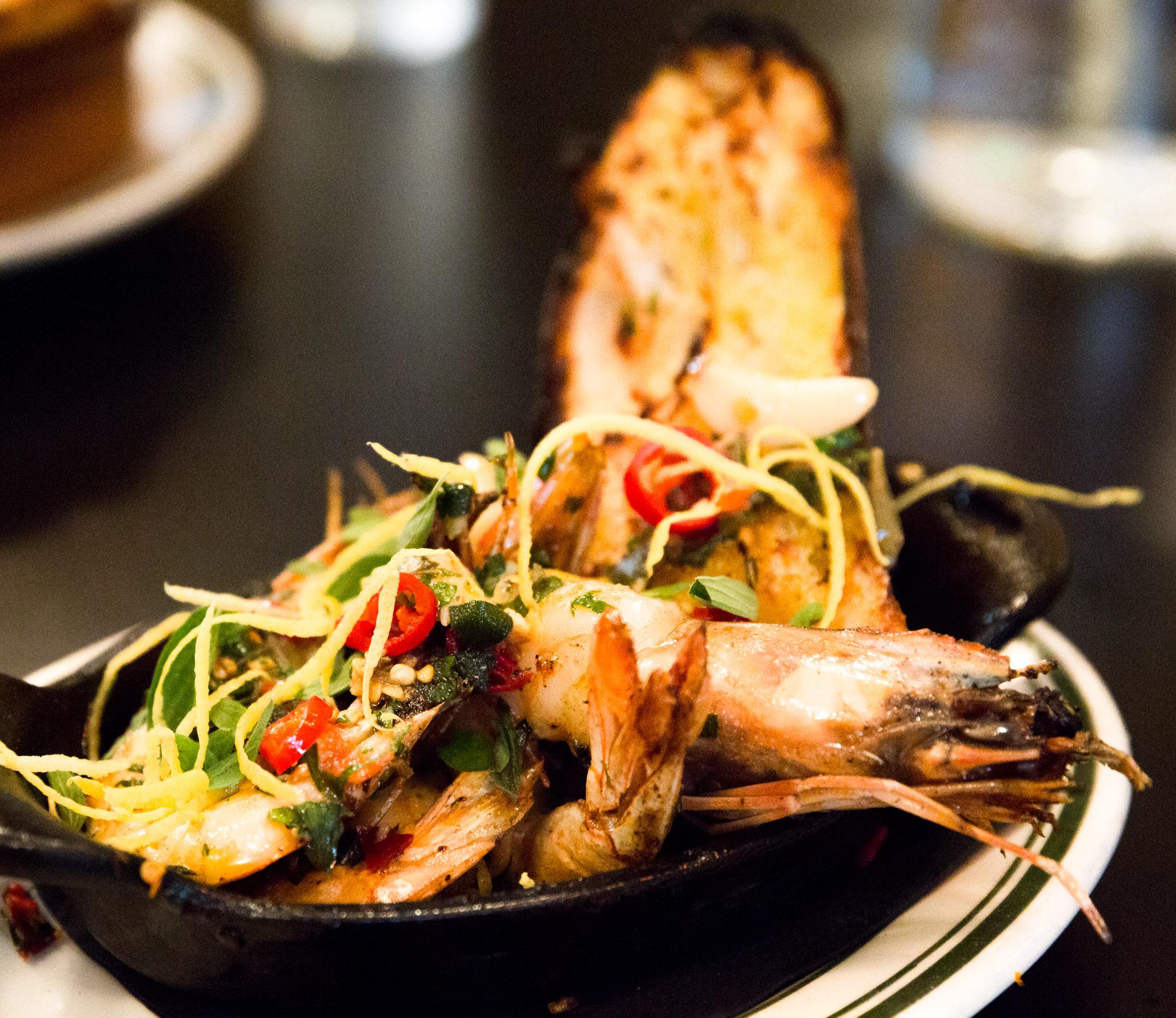Antinue Bakery Hoboken shrimp