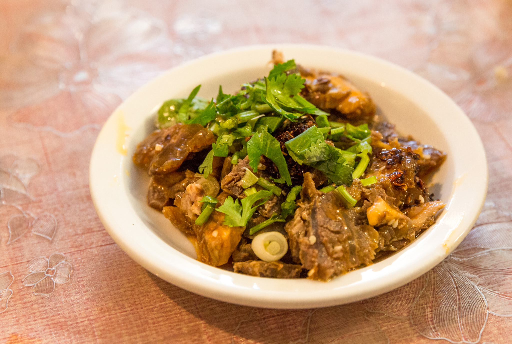 Shan Shan Noodle beef offal