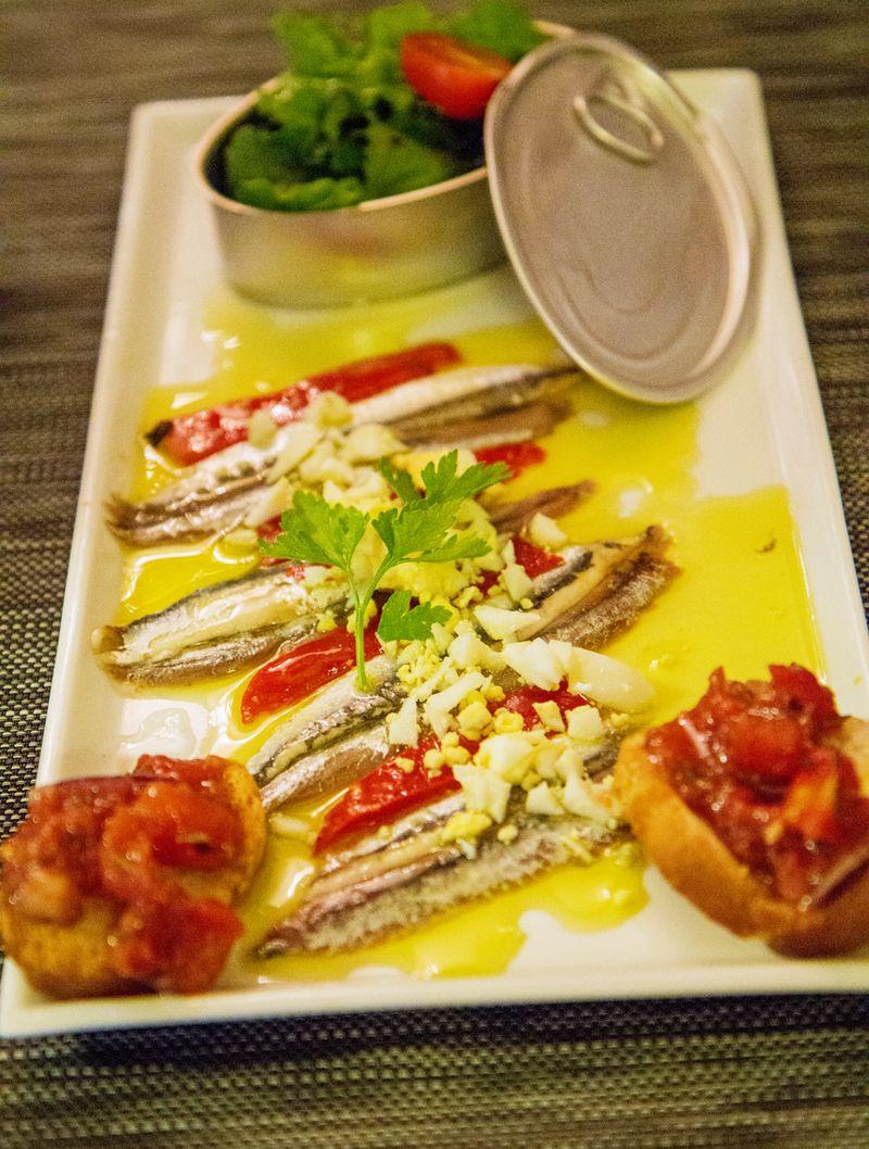 Casa leon collioure anchovies