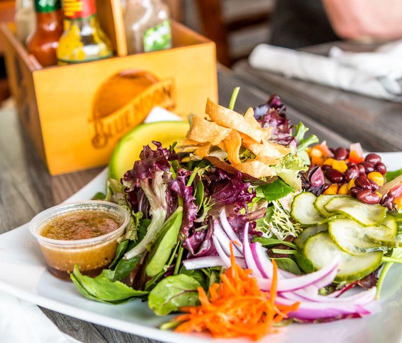 Lucky 13 BBQ salad
