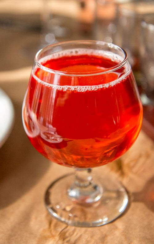 Awestruck hibiscus ginger cider