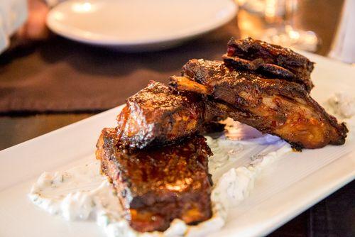 Lamb ribs Hohokus inn