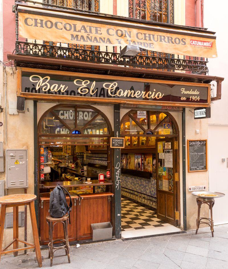Sevilla bar el comercio