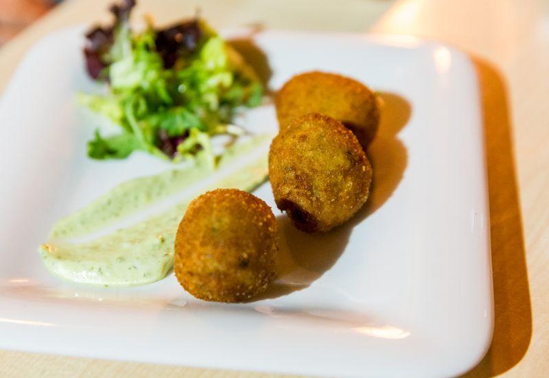 Jerez spain restaurante albores fritters