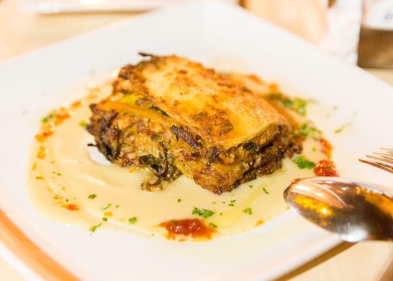 Jerez spain restaurante albores lasagna