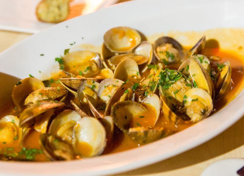 Jerez spain restaurante albores clams
